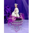 Girl Graduation Cake Topper or Centerpiece Keepsake