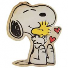 Snoopy & Woodstock Embossed Tin Sign Decoration