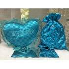 Satin Money Bag with Tiara Shoe Pillow Mis Quince Anos Bolsa