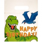 Dinosaur Happy Birthday Zipper Bags Party Supplies Special Events 24 Count