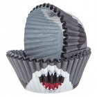 Shark Party Baking Cups Birthday Party Supplies Kids Party Accessories 50 Cups
