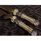 Wedding Rhinestone Cake Knife and Server Set for Anniversary Sweet 16