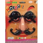 Glasses & Mustache Halloween Costume Accessories Favors