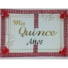 Mis Quince Años Spanish Sweet 15 Guest Book with Pen Party Supplies