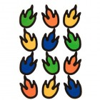 Dinosaur Feet Envelope Seals Party Supplies Special Events 36 Count