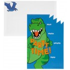 Dinosaur Party Invitations Party Supplies Special Events 10 Count