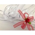 6 Plastic Tongs Candy Bar Ice Party Supplies for Birthday Baby Shower Wedding Party Red Bow