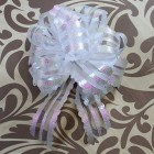 Set of 10 White Pull Ribbons Party Favors or Party Supplies