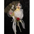 Beauty and The Beast Belle Corsage Favor Gift Keepsake