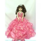 Mis Quince Anos Birthday Centerpiece Doll Pink