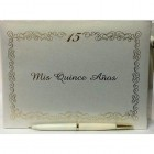 Mis Quince Años Spanish Sweet 15 Signature Guest Book Reception Party Keepsake