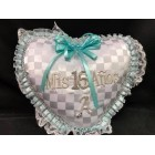 Mis Cumpleanos Heart Shaped Birthday Pillow Gift Keepsake