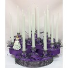 Sweet 15 Candle Holder Centerpiece Cake Decoration 15 Ct