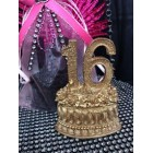 Gold Sweet 16 Sixteen Number Favor Centerpiece Cake Top Caketopper Decoration Gift