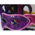 Assorted Masquerade Birthday Mask Centerpiece 12 Ct