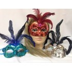 Assorted Masquerade Mask Party Decoration 12 Ct