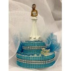 Sweet 15 or 16 Anos Ethnic Cake Topper or Centerpiece