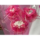 1 Pack of 12 Assorted Sweet 16 Fuchsia Capia Chest Favor Keepsake