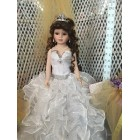 Wedding Bridal Sweet 16 Centerpiece Doll Keepsake