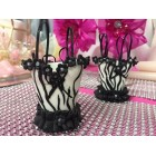 Hand Crafted Zebra Print Corset party Favors for Bridal Shower Sweet 16 Mis Quince Anos