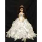 Sweet 16 Birthday Centerpiece Doll White