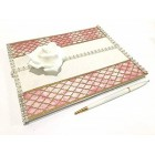 All Occasion Guest Book with Rose, For Sweet 16,Birthday Mis Quince Anos and Wedding