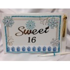 Disney Frozen Sweet 16 Guest Book