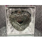 Wedding Traditional Jewelry Heart Shaped Box Arras with 13 Coins