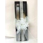 Wedding Cake Knife and Server Set with Designer Box