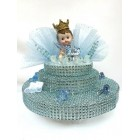 Royal Prince Crown Boy Centerpiece Keepsake