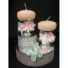 Butterfly Candles Centerpiece Decoration