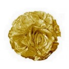 "Rose 7"" Flower Ball Centerpiece Decoration Gold"