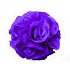 "Rose 7"" Flower Ball Centerpiece Decoration Purple"