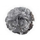 "Rose 7"" Flower Ball Centerpiece Decoration Silver"