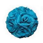 "Rose 7"" Flower Ball Centerpiece Decoration Turquoise"