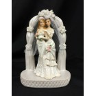 Brides Lesbian Gay Couple Under Arch Cake Topper