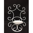 White Wired Candle Holder Decoration Centerpiece