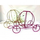 Wire Coach Carriage Centerpiece Decoration