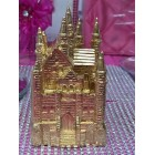 "4 1/2"" Gold Fairytale Castle Cake Top Centerpiece for Birthday Wedding Sweet 16"