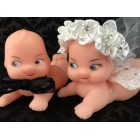 Baby Bride and Groom Wedding Cupid Dolls Cake Decoration Favor Gift Ideas