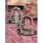 Glass Wedding Couple Favor Keepsake Gift