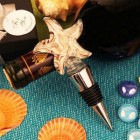 Toast by the Sea Arte Murano Bottle Stopper Favor for Wedding Sweet 16 All Occasion