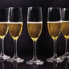 Champagne Toast Flute Glass