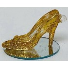 High Heel Shoe Gold Glitter Party Favor All Occasion Wedding Sweet 16
