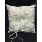 Ivory Wedding Ring Bearer Pillow