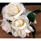 Ivory Wedding Bouquet of Flowers Bridal Party