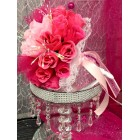 Pink and Fuchsia Wedding Bunch of Flowers for Centerpiece Flower Bouquet Decoration