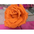 Orange Craft Foam Flower Weddings Sweet 16 All Purpose