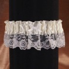 Satin and Lace Wedding Garter