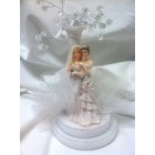 Lesbian Partner Gay Couple Brides Wedding Centerpiece